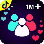 TikBooster for Tiktok followers & fans & like free icône