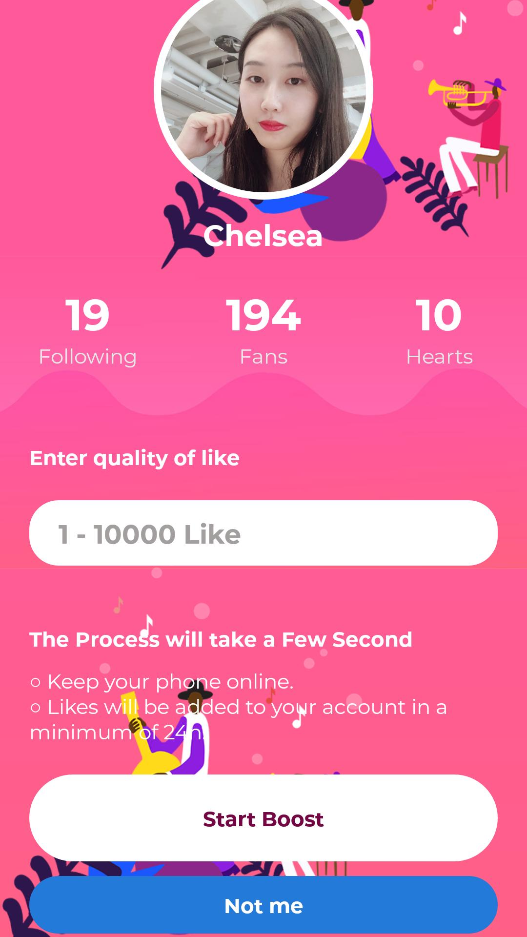 Get Free Fans Likes Followers For Tik Tok For Android Apk Download