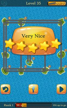Bridges: Super Number Line Hashi Brain Puzzle screenshot 1