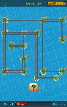 Bridges: Super Number Line Hashi Brain Puzzle screenshot 2