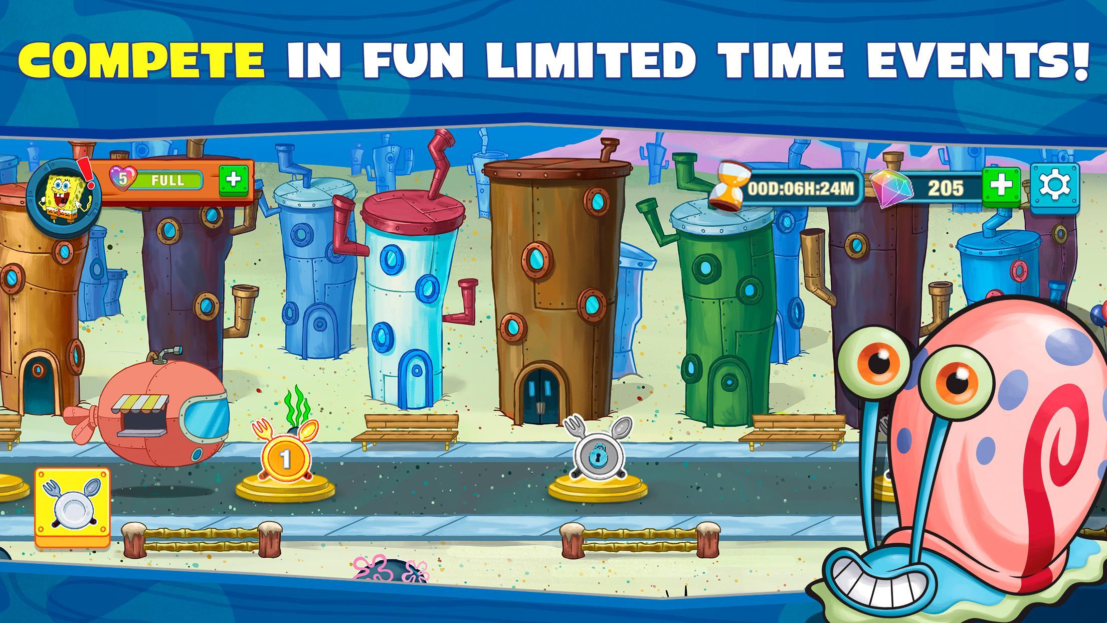 Spongebob: Krusty Cook-Off poster