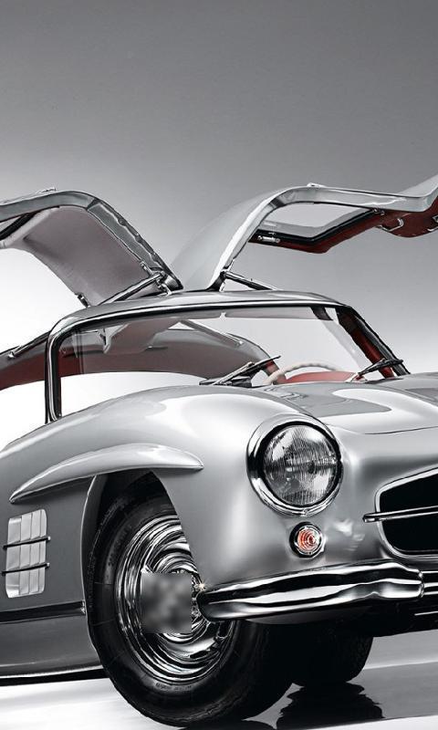 Fondos De Pantalla Mercedes Benz 300sl Gullwing For Android