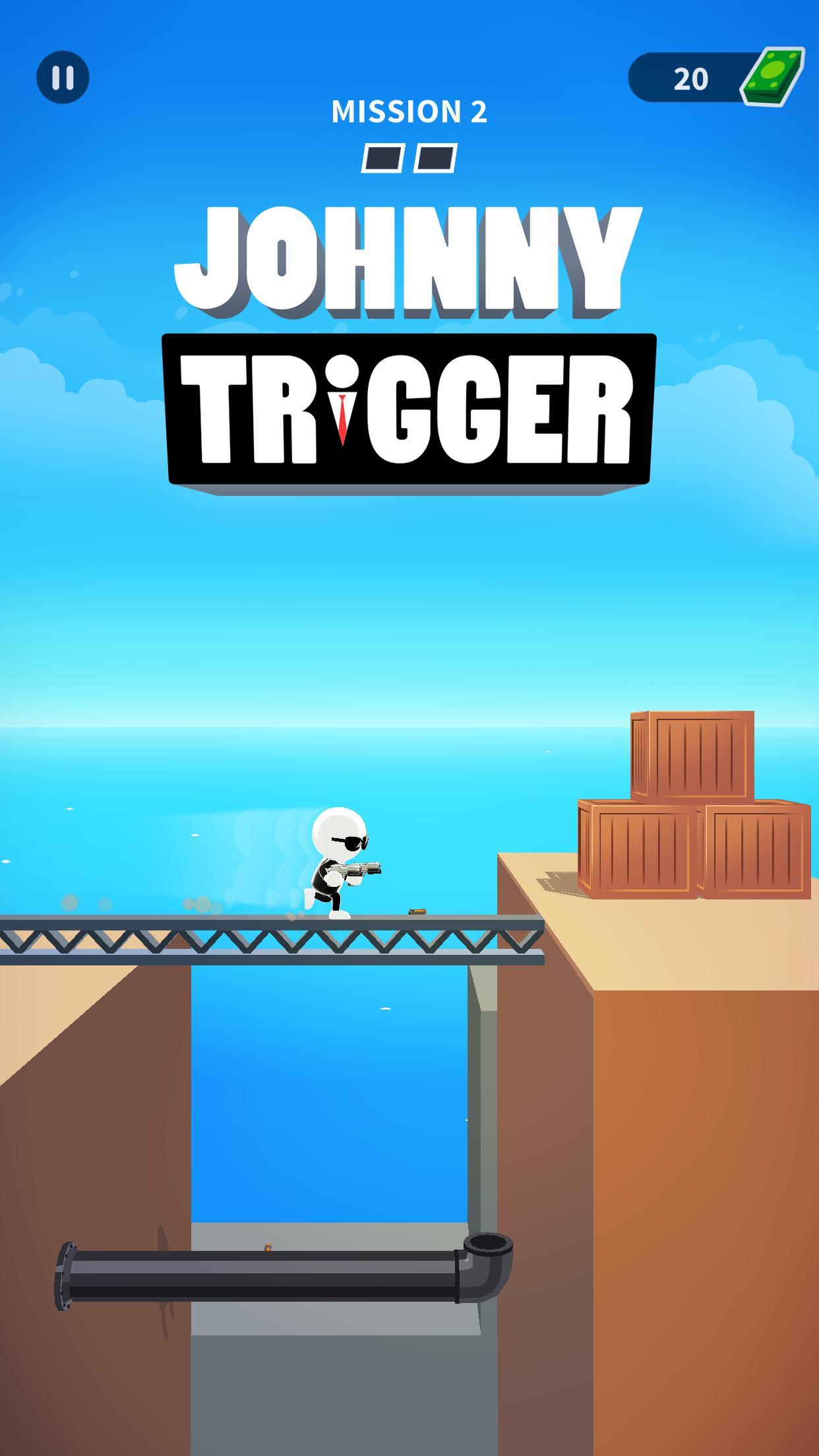 Johnny Trigger poster