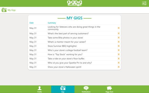 GigPig screenshot 11