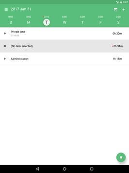 Time Tracking App TimeCamp スクリーンショット 5