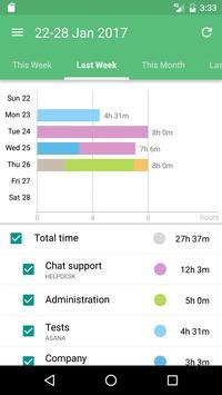 Time Tracking App TimeCamp スクリーンショット 2
