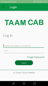 Taam  Cab screenshot 3