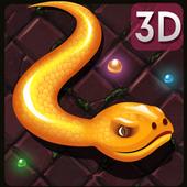 3D Snake . io icon
