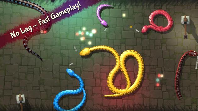 3D Snake . io screenshot 14