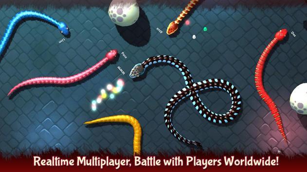 3D Snake . io screenshot 12