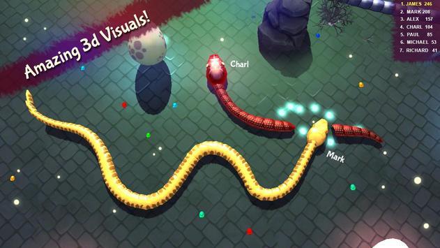 3D Snake . io screenshot 3