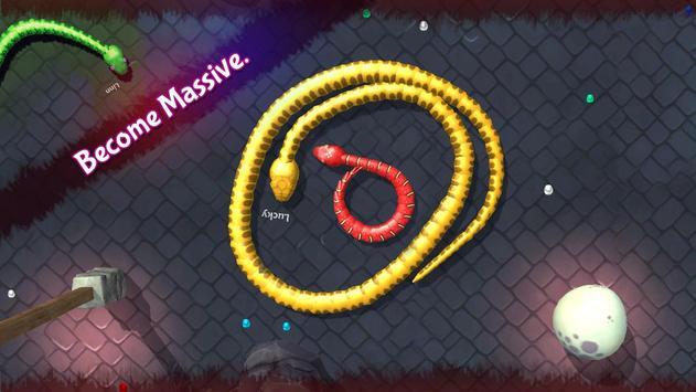 3D Snake . io screenshot 5