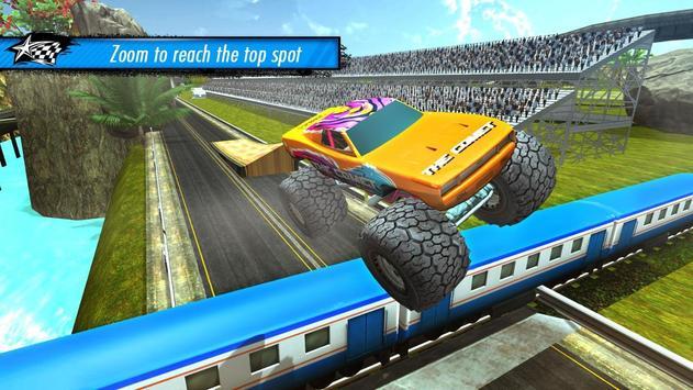 Train vs Car Racing 3D screenshot 7