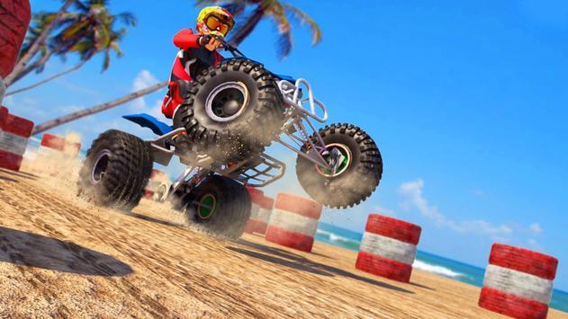 ATV Quad Bike : Bike Wheeling Stunts poster