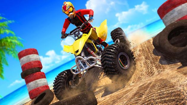 ATV Quad Bike : Bike Wheeling Stunts screenshot 1