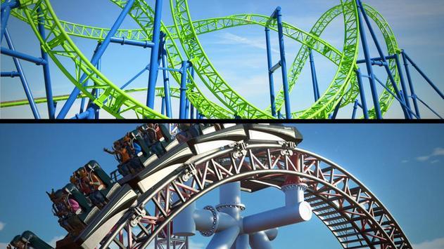 Roller Coaster 3D screenshot 10