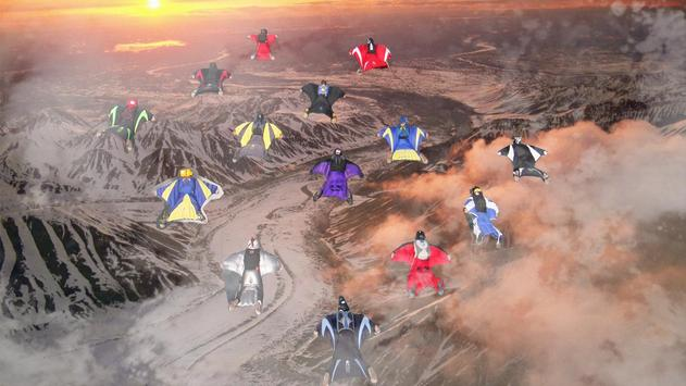 Wingsuit Simulator 3D - Skydiving Game poster
