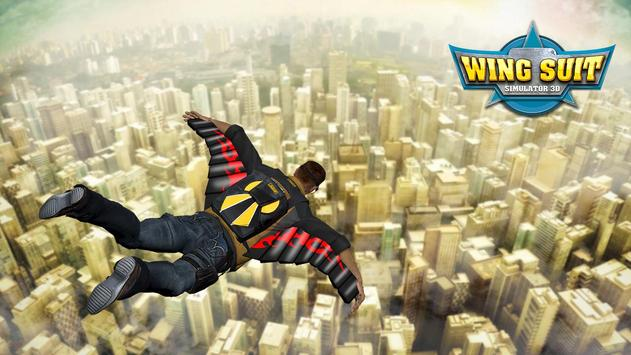 Wingsuit Simulator 3D - Skydiving Game screenshot 1