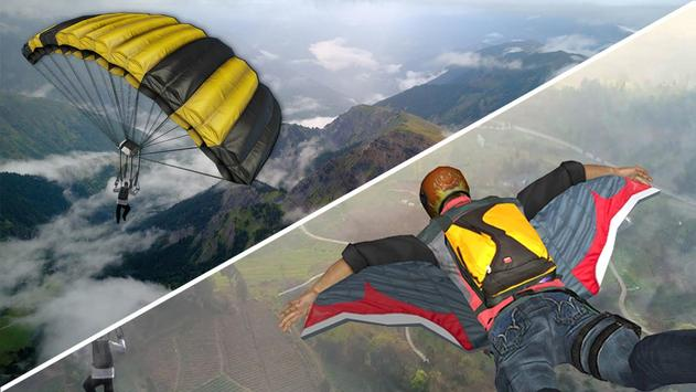 Wingsuit Simulator 3D - Skydiving Game screenshot 2