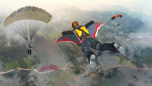 Wingsuit Simulator 3D - Skydiving Game screenshot 4