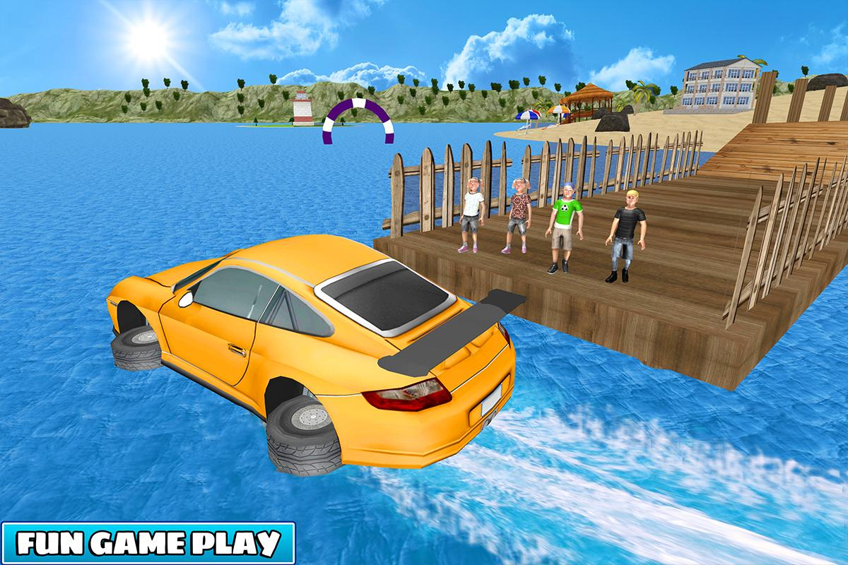 Kids Car Racing Water Surfer Stunts For Android Apk Download
