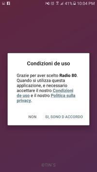 Radio 80 italia poster