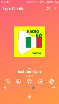 Radio 80 italia screenshot 2