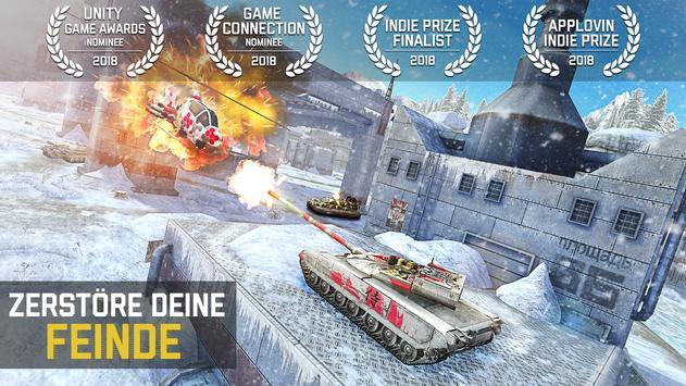 Massive Warfare: Aftermath Kostenloses Panzerspiel Screenshot 1