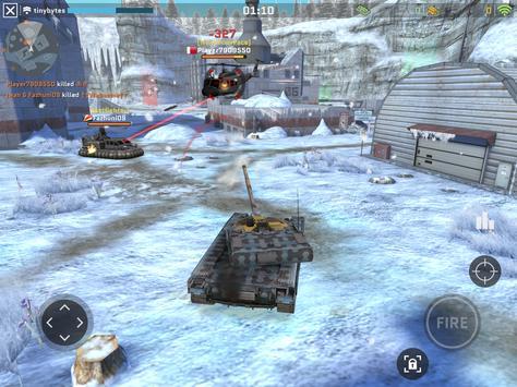 Massive Warfare: Helicopter & Tank Blitz War Games screenshot 10