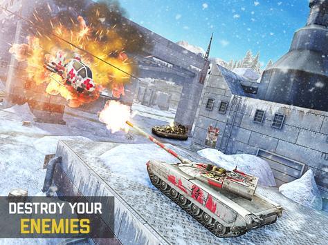 Massive Warfare: Helicopter & Tank Blitz War Games screenshot 15