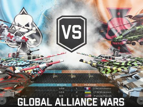 Massive Warfare: Helicopter & Tank Blitz War Games screenshot 14