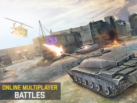 Massive Warfare: Helicopter & Tank Blitz War Games screenshot 12
