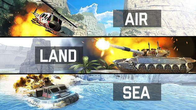 Massive Warfare: Helicopter & Tank Blitz War Games poster