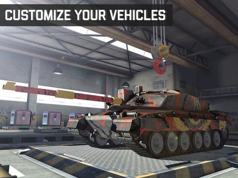 Massive Warfare: Helicopter & Tank Blitz War Games screenshot 21