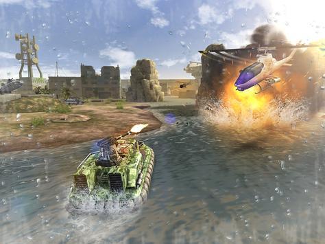Massive Warfare: Tank vs Helicopter Free War Game screenshot 19