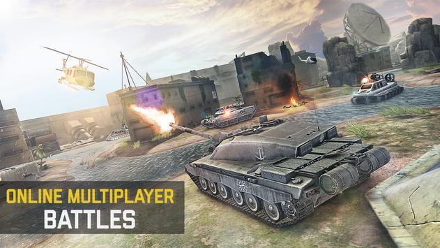 Massive Warfare: Helicopter & Tank Blitz War Games screenshot 4