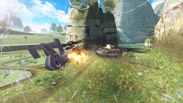 Massive Warfare: Tank vs Helicopter Free War Game screenshot 1