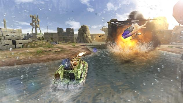 Massive Warfare: Helicopter & Tank Blitz War Games screenshot 3
