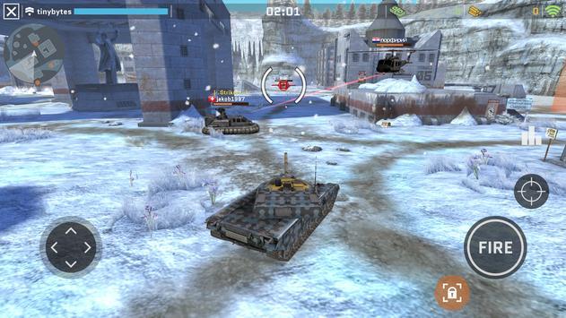 Massive Warfare: Aftermath - Free Tank Game ảnh chụp màn hình 7