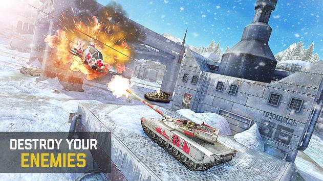 Massive Warfare: Helicopter & Tank Blitz War Games screenshot 7