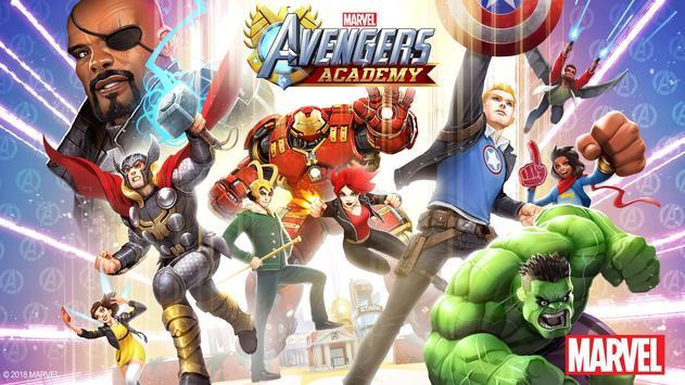MARVEL Avengers Academy poster