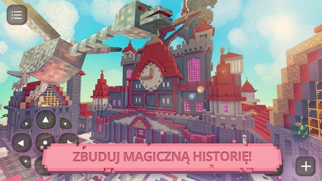 Baśnie i Bajki: Girls Craft 3D screenshot 1