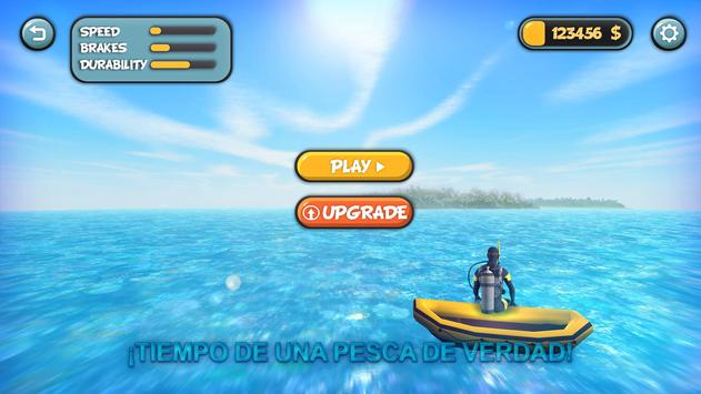 El juego de pesca submarina 3D captura de pantalla 5
