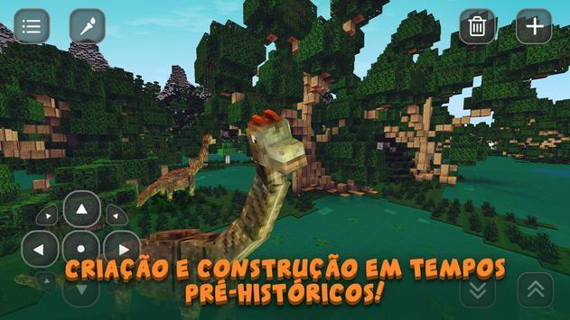 Dino Jurassic Craft: Evolution imagem de tela 1