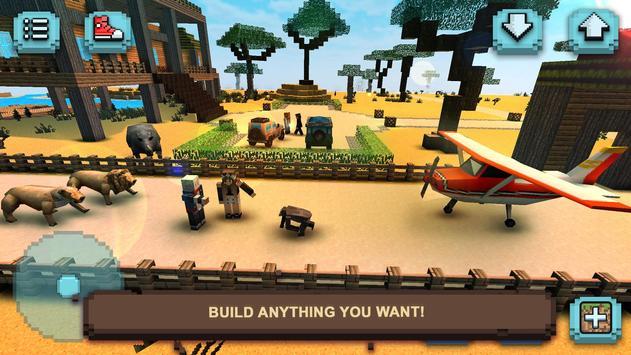 Savanna Safari Craft: Animals screenshot 1