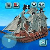 Pirata Craft Tesouro do Caribe ícone