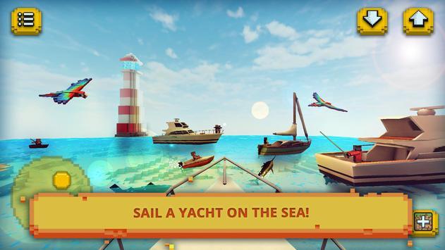 ईडन द्वीप शिल्प: मछली पकड़ना और स्वर्ग में पोस्टर