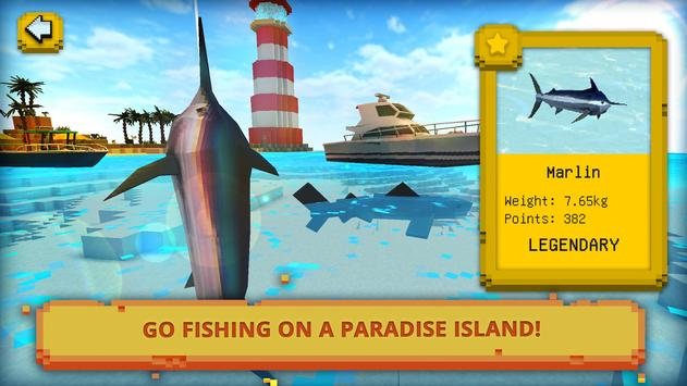 ईडन द्वीप शिल्प: मछली पकड़ना और स्वर्ग में स्क्रीनशॉट 1