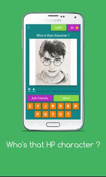 Who's that HP Character ? - HP Character trivia screenshot 1