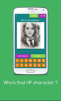 Who's that HP Character ? - HP Character trivia screenshot 3
